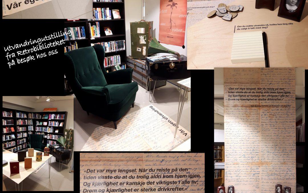 Retrobibliotekets Utvandrerutstilling